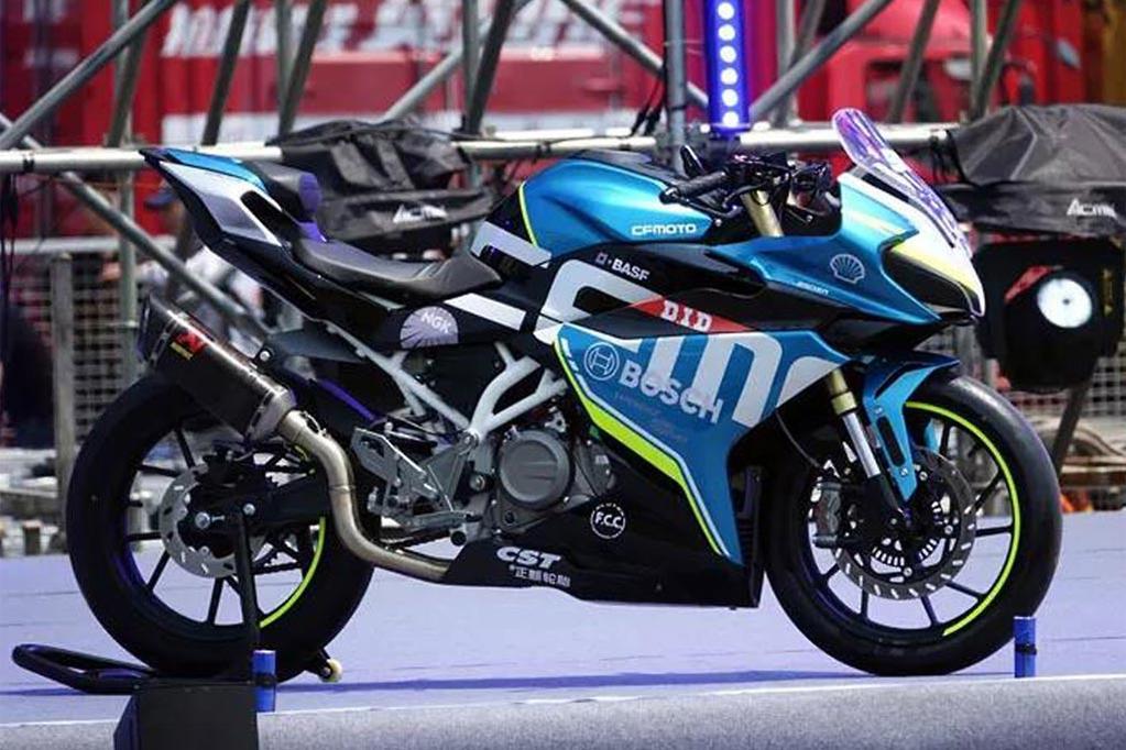 CFMoto 250SR makes public debut in China - www bikesales com au