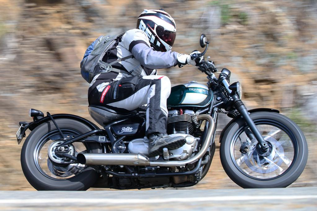 2017 Bikesales Bike Of The Year Triumph Bonneville Bobber Www