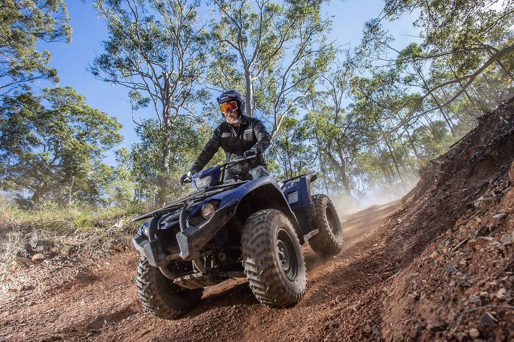 2018 Yamaha Kodiak 450 launch review - www bikesales com au