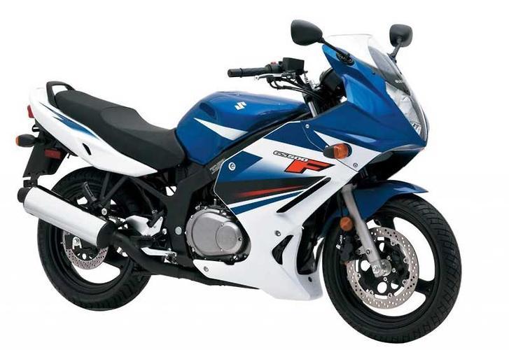 Suzuki gs500f specs