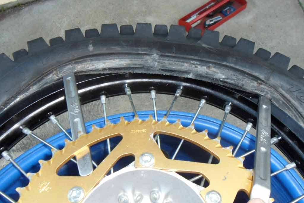 new bike tire how to change