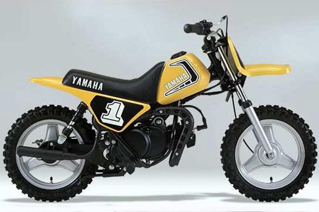 Yamaha PW50 celebrates 30th birthday - www bikesales com au