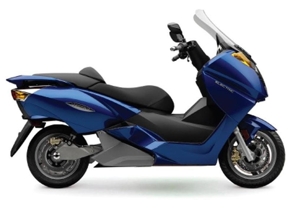 Vectrix VX-1 electric scooter - www bikesales com au