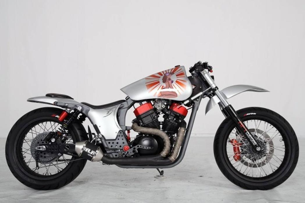 Vt750 wins custom bike award for Yamaha dealers in vt