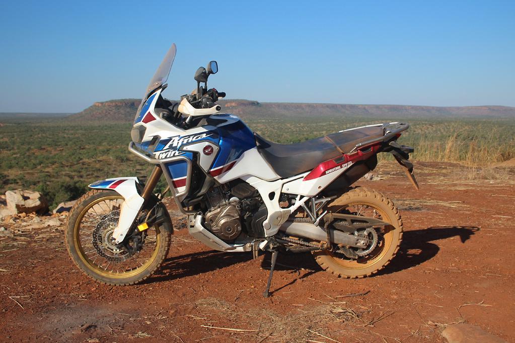 2018 Honda Africa Twin Adventure Sports review - www