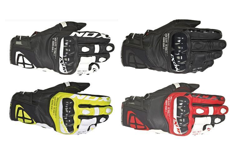 4XL Mens DriRider Air Ride Motorbike Gloves Summer Sports Touring Black