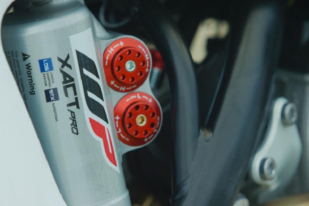WP Supertrax shock absorber - www bikesales com au