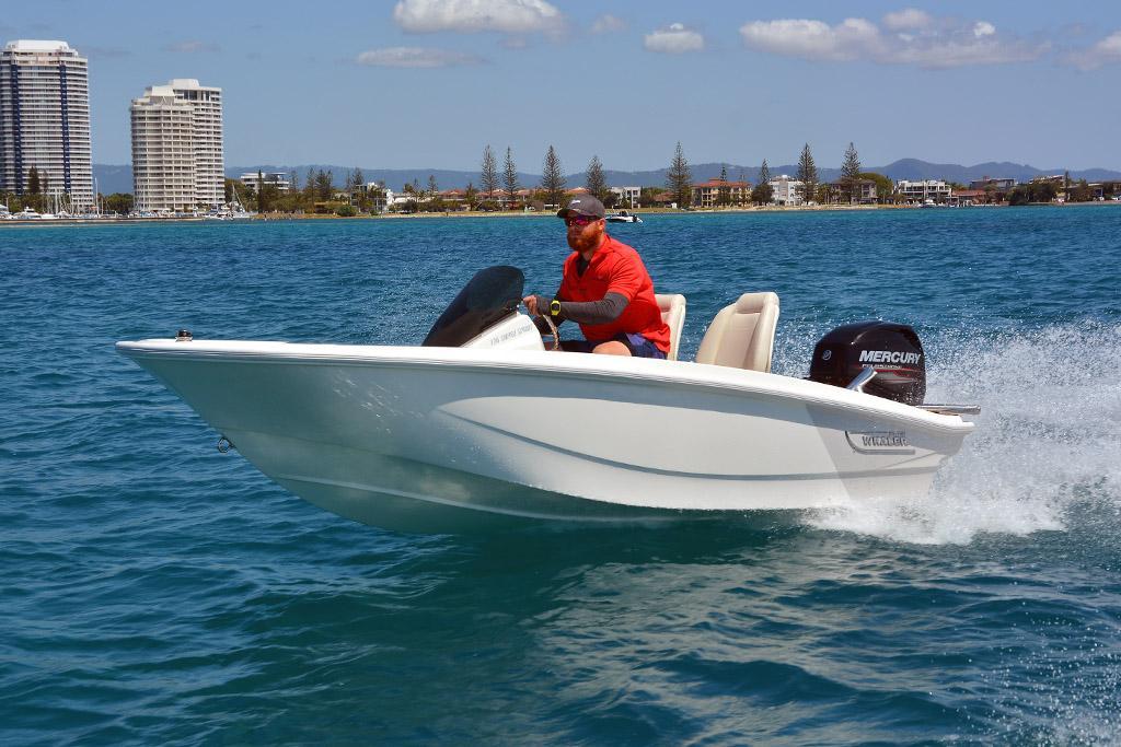 2019 Boston Whaler 130 Super Sport review - www boatsales com au