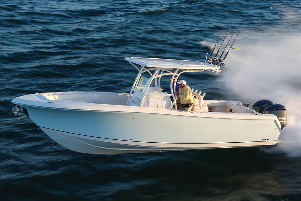 The top 10 new centre consoles for fishing and family boating - www