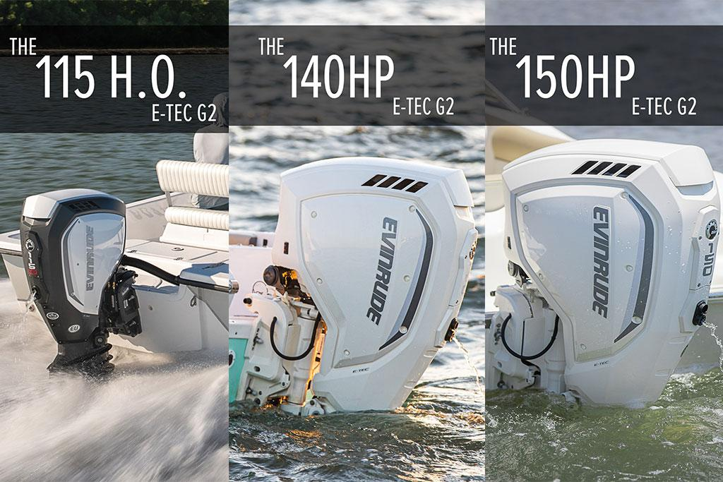 Evinrude launches new three-cylinder E-TEC G2 outboard