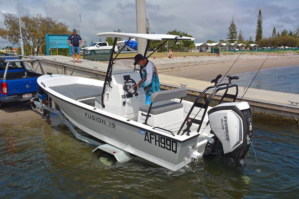 2019 Fusion 19 Centre Console review - www boatsales com au