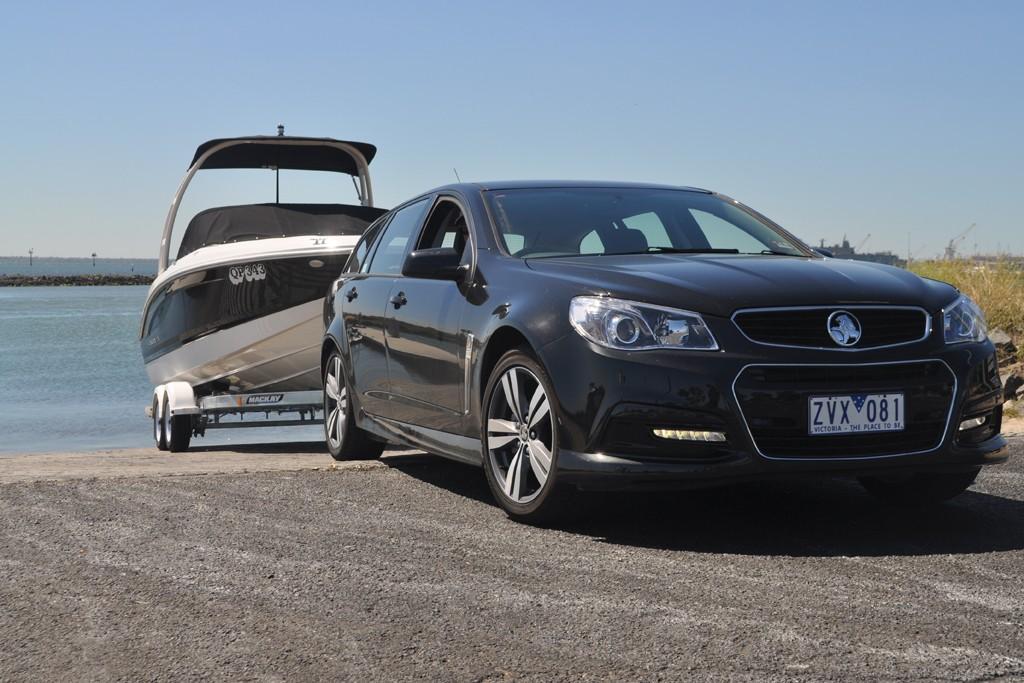 Tow Test: Holden Commodore VF Sportwagon SV6 - www boatsales
