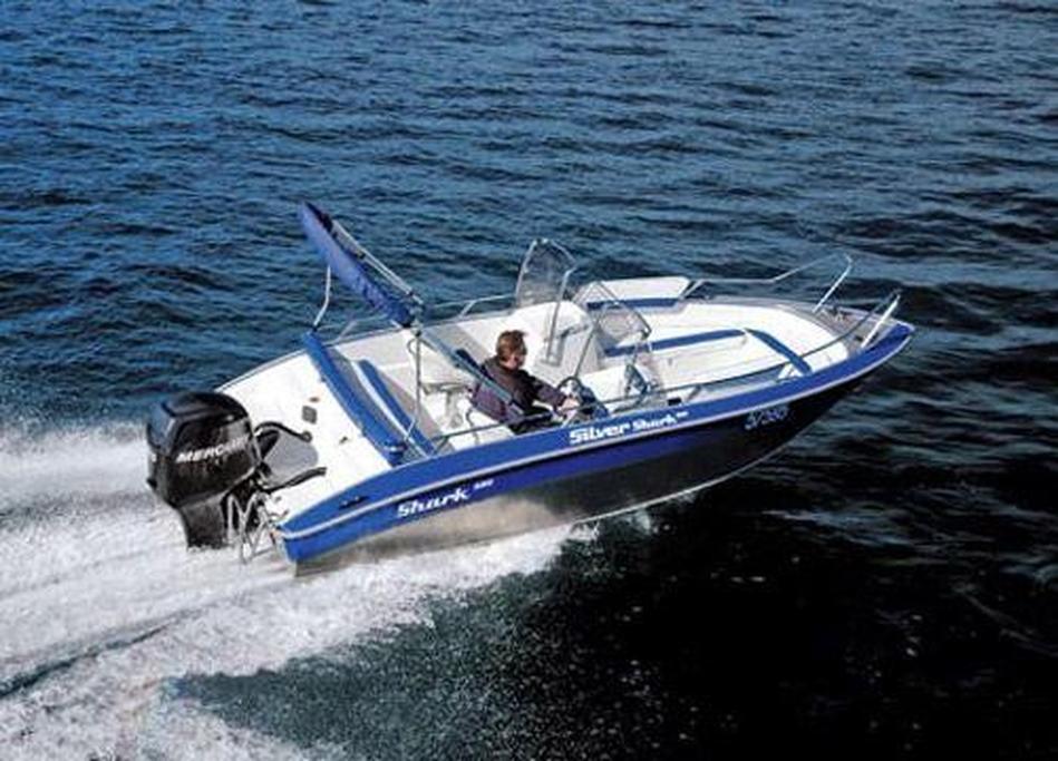 Silver Shark 580DC - www boatsales com au