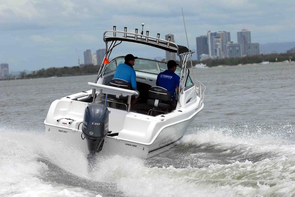 Cruise Craft 575 Explorer with Yamaha F130 - www boatsales