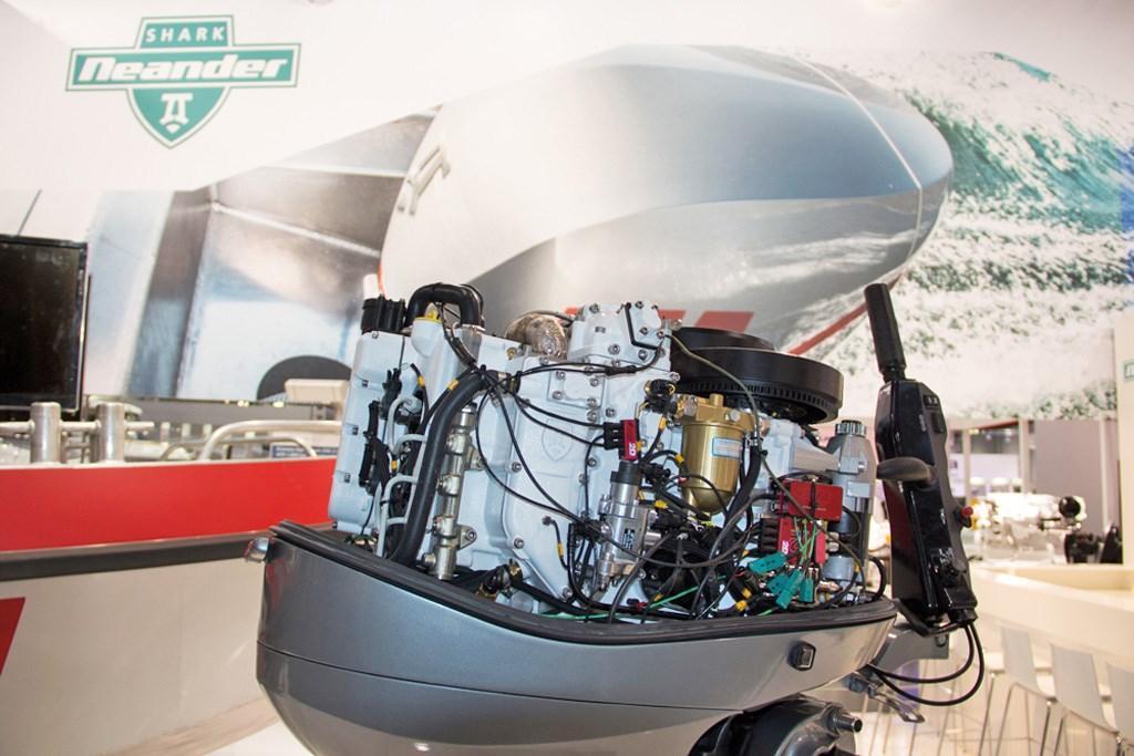 Neander Dtorque 111 turbo-diesel 50hp outboard - www boatsales com au