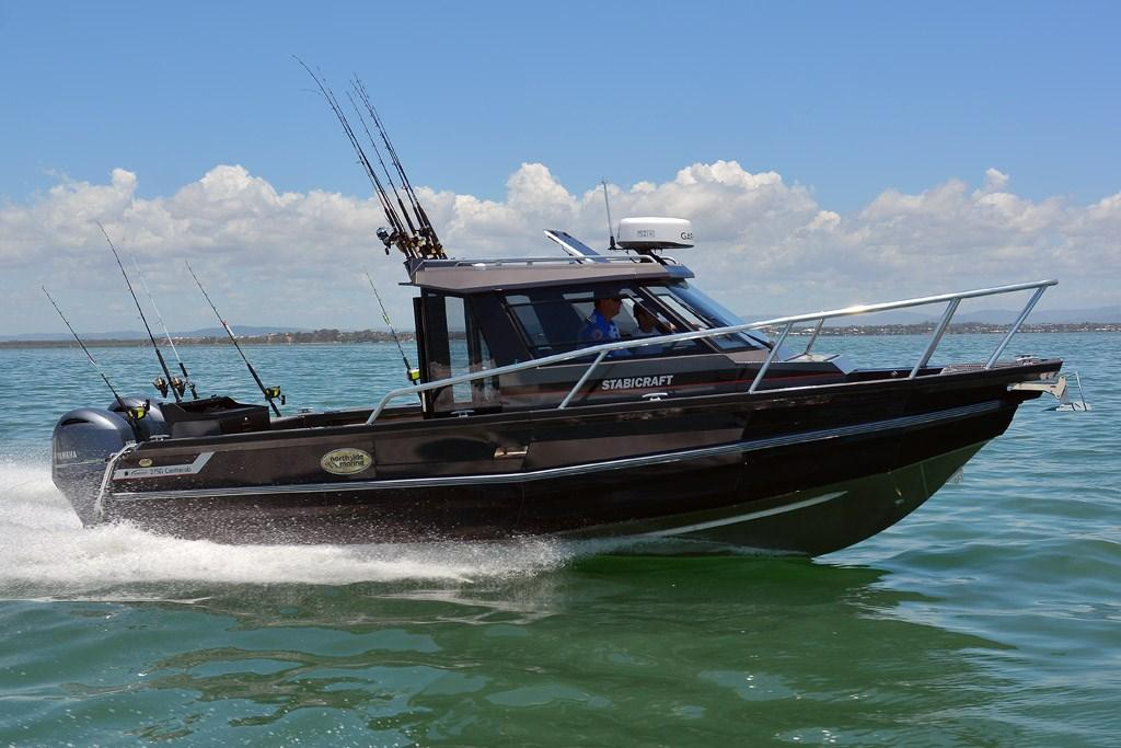 Stabicraft 2750 centrecab fishing boat review www for Fishing spots near me no boat