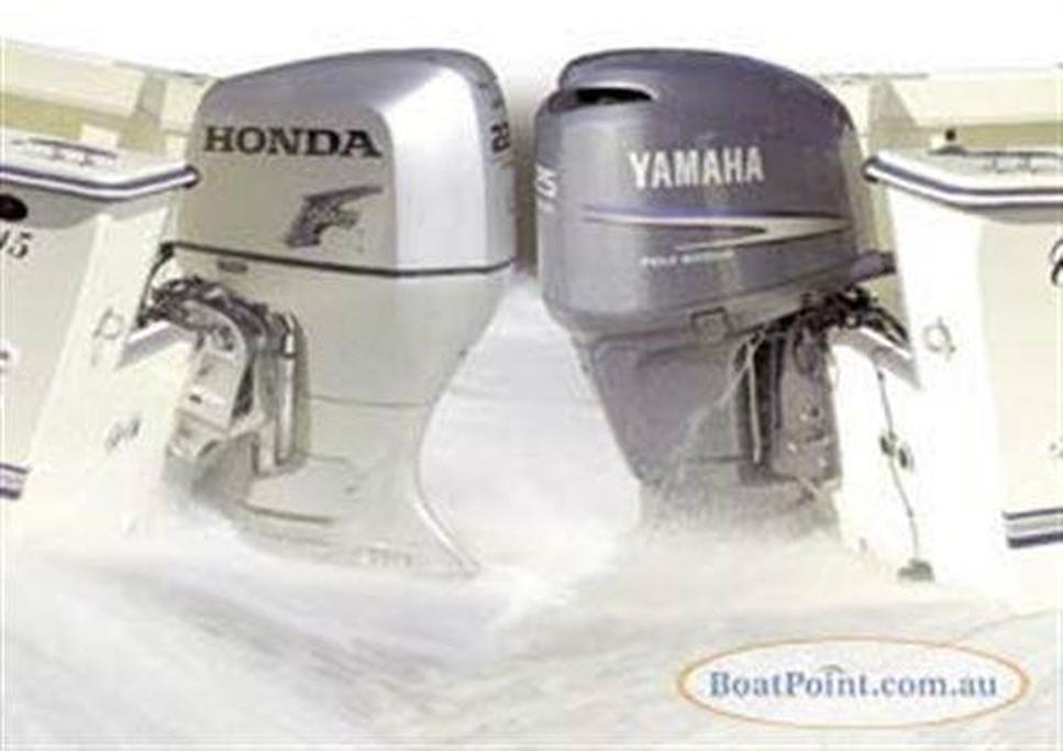 Honda BF225 vs Yamaha F225 - www boatsales com au