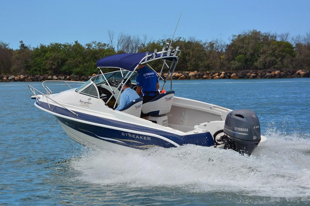 Streaker 5700 Navigator with new Yamaha F130A: Review - www