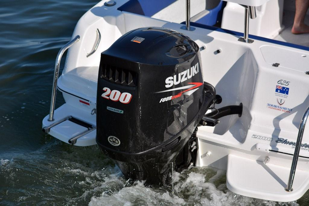 Suzuki 200hp Four-Stroke: Engine Review - www boatsales com au