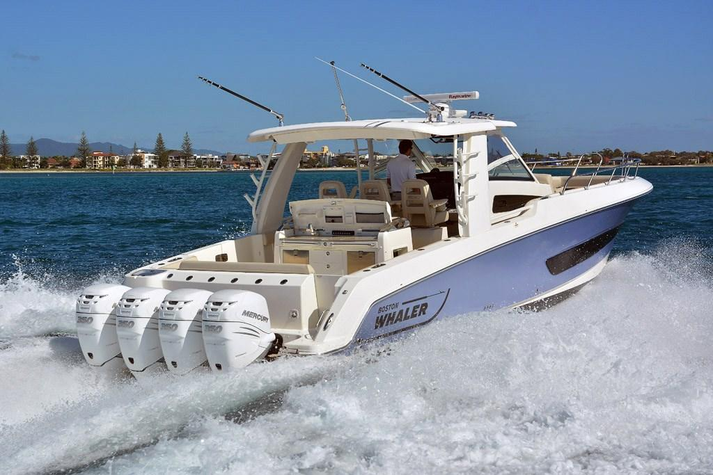 Boston Whaler 420 Outrage: Fishing Boat Review - www