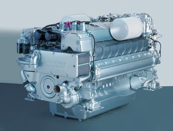 MTU's Series 2000 diesels - www boatsales com au