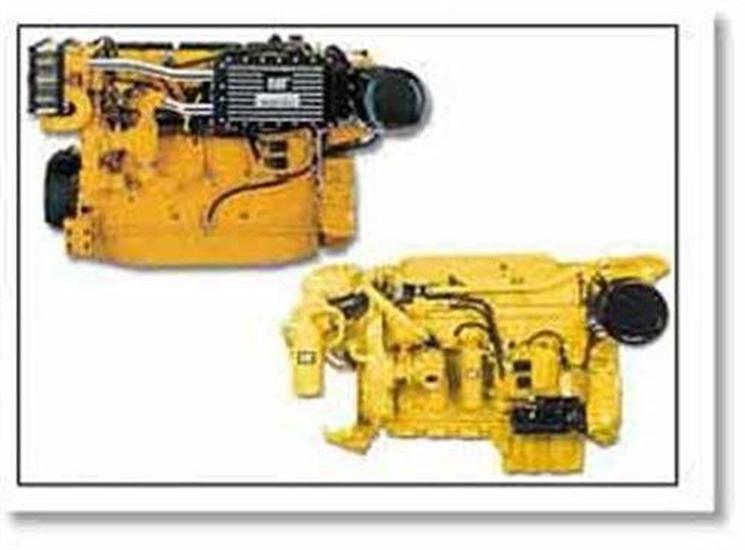 Cat Marine's electronically managed engines - www boatsales