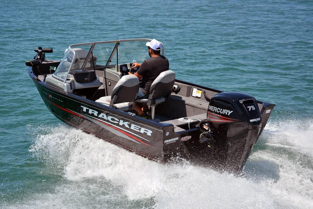 Tracker Pro Guide V-16 WT: Fishing Boat Review - www