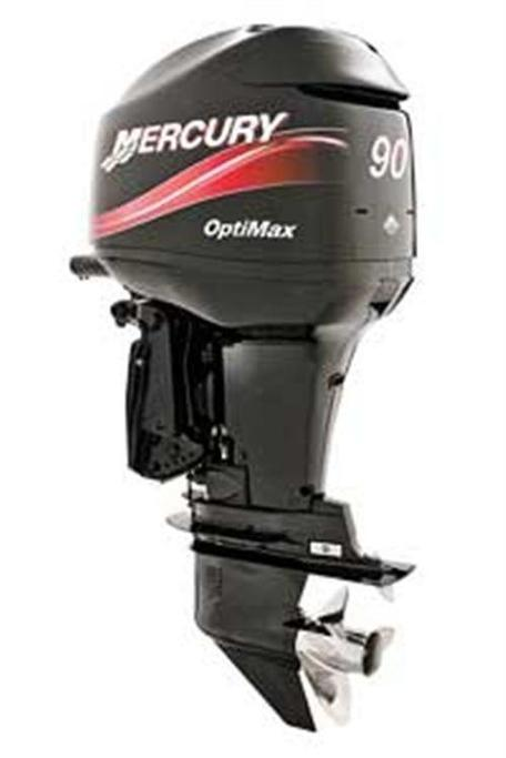 90 to 100hp four-strokes and direct-injection two-strokes
