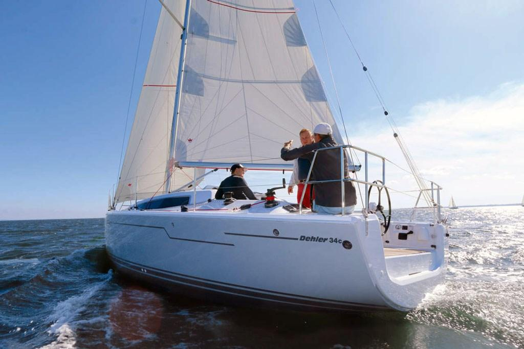 Dehler 34 Hits The Water First Look Www Boatsales Com Au