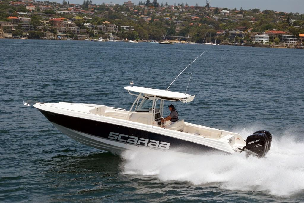 Wellcraft 35 Scarab Offshore Sport: Fishing Boat Review - www