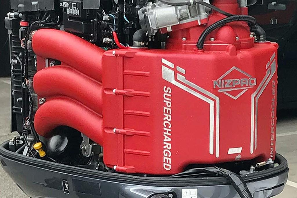 This 450hp Yamaha V6 is the most powerful six-cylinder