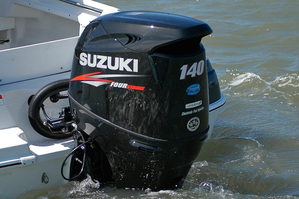 Suzuki debuts new DF100/115/140A four strokes - www