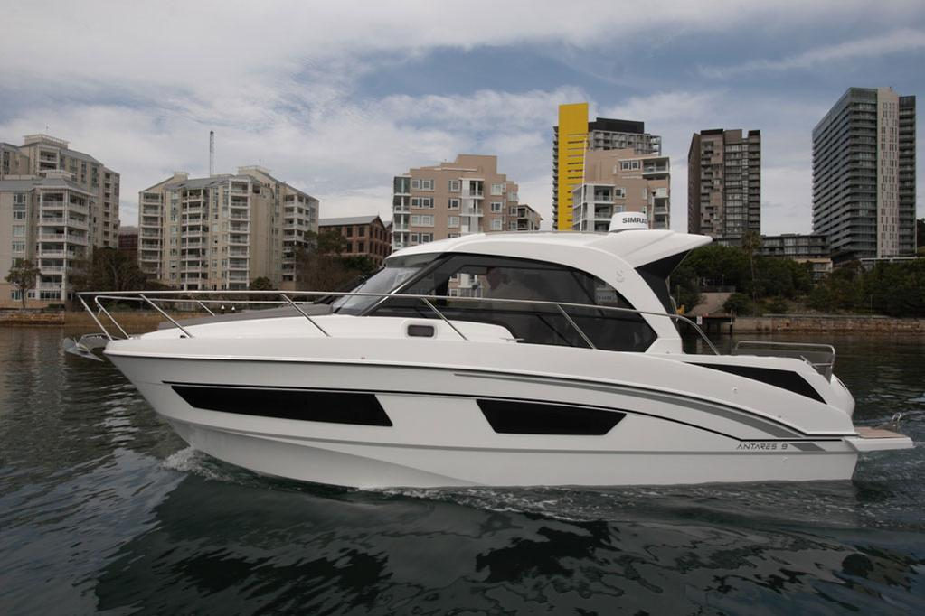 2018 Beneteau Antares 9 Outboard Review Www Boatsales Com Au