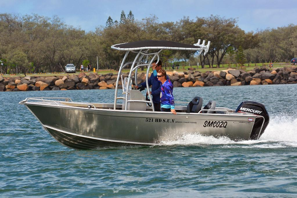 2019 Makocraft 521HD SUV review - www boatsales com au