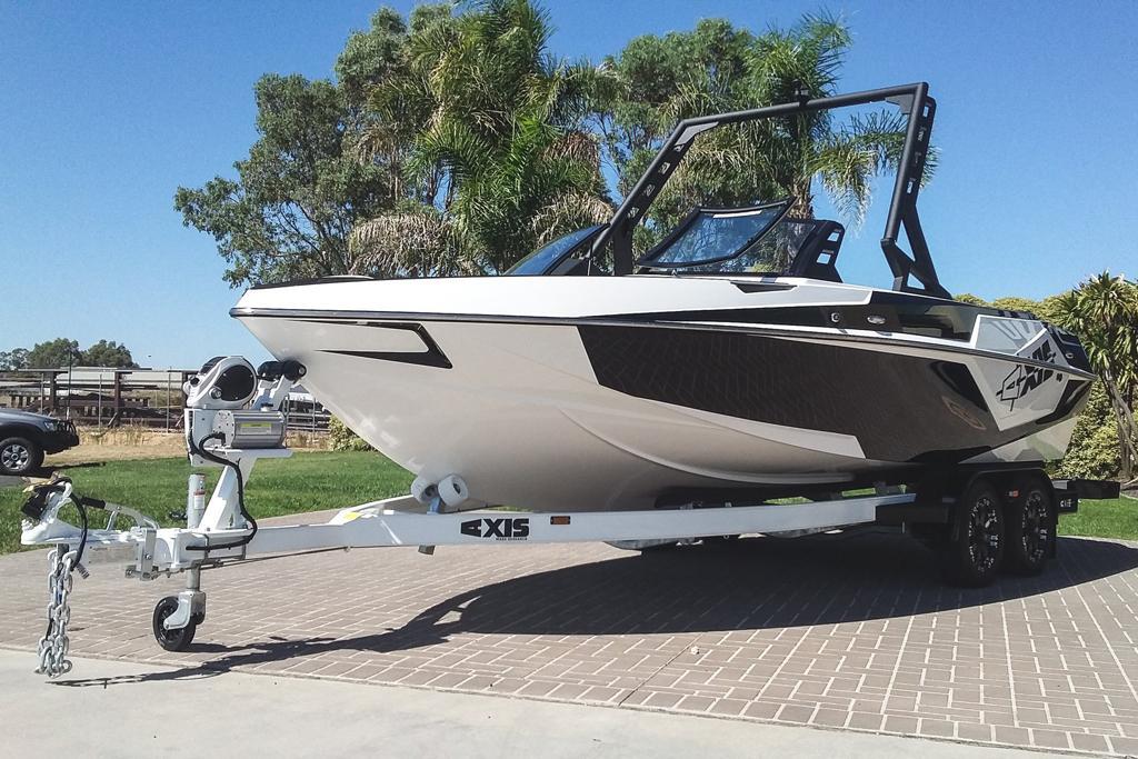 First Australian-built 2018 Malibu Axis T22 - www boatsales