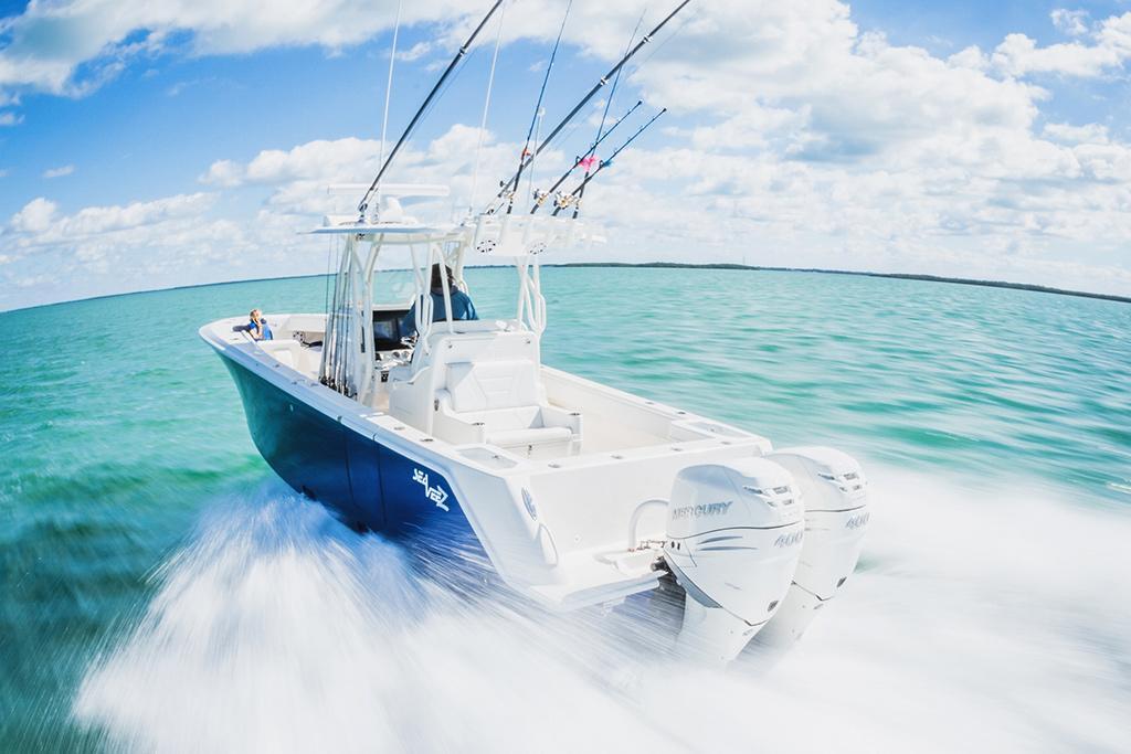 Mercury Verado 400 powers up at Miami - www boatsales com au