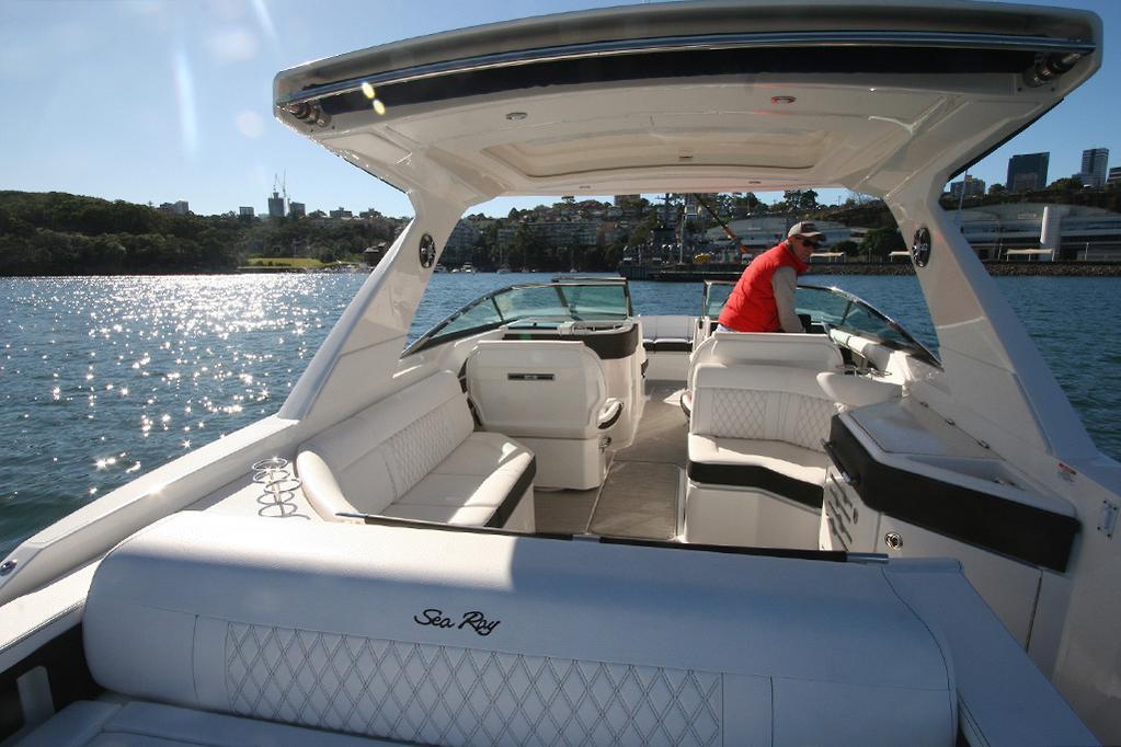 2019 Sea Ray SLX 310 review - www boatsales com au