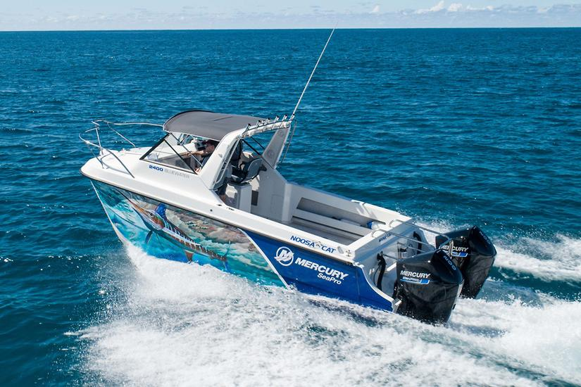 Big horsepower V8s expand Mercury Sea-Pro line-up - www