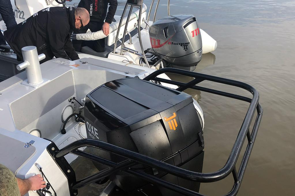Diesel outboard influx to target commercial, defence markets