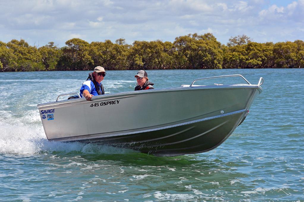 2019 Savage 445 Osprey review - www boatsales com au
