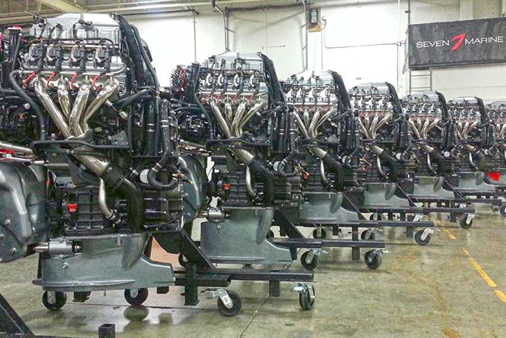 New Seven Marine high-horsepower V8 outboard engines - www boatsales