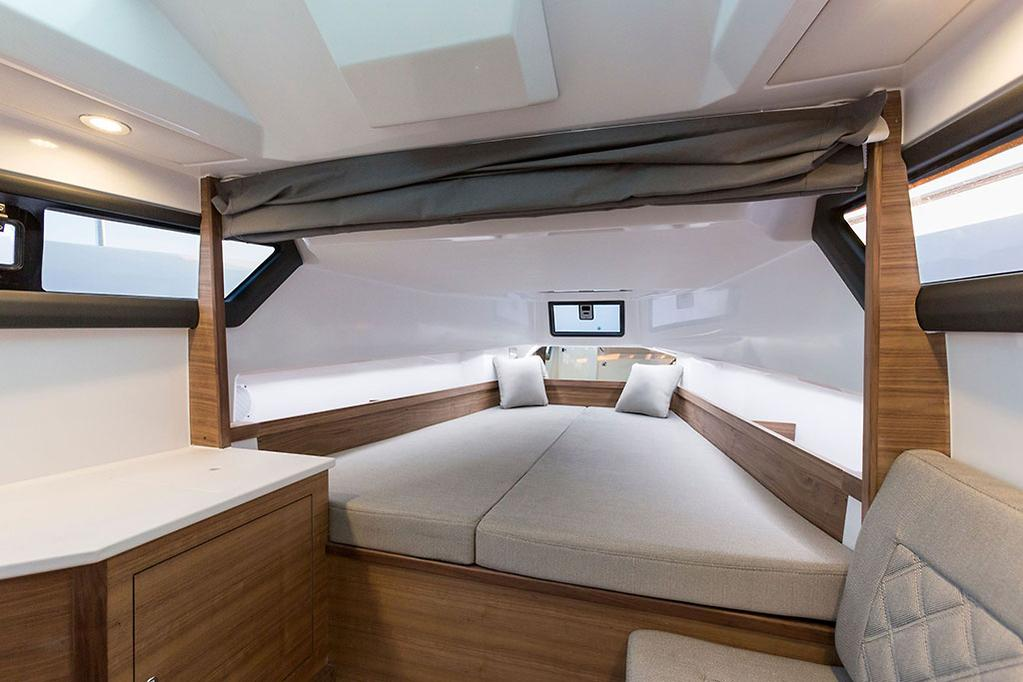 Boat With Sleeping Cabin