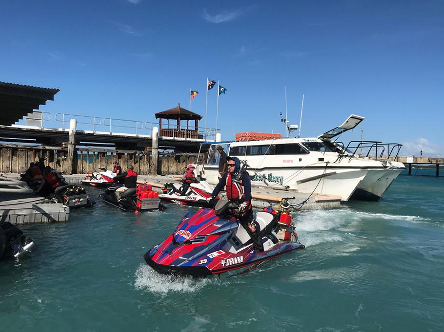 Jet ski charity ride from Australia to PNG     and back