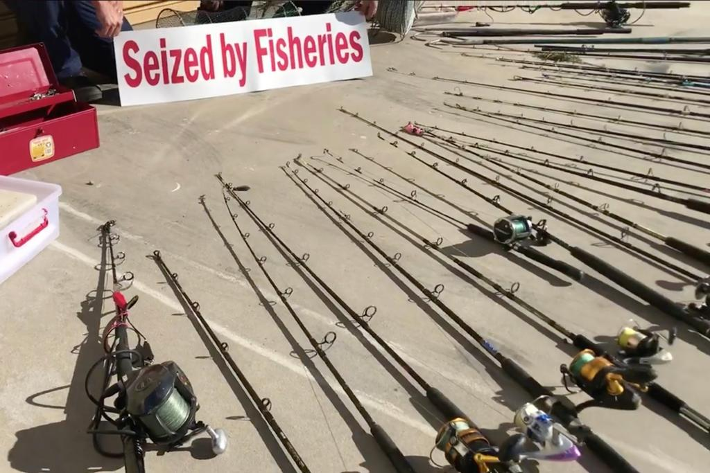 Illegal fishers forfeit 7 5m plate-alloy boat - www