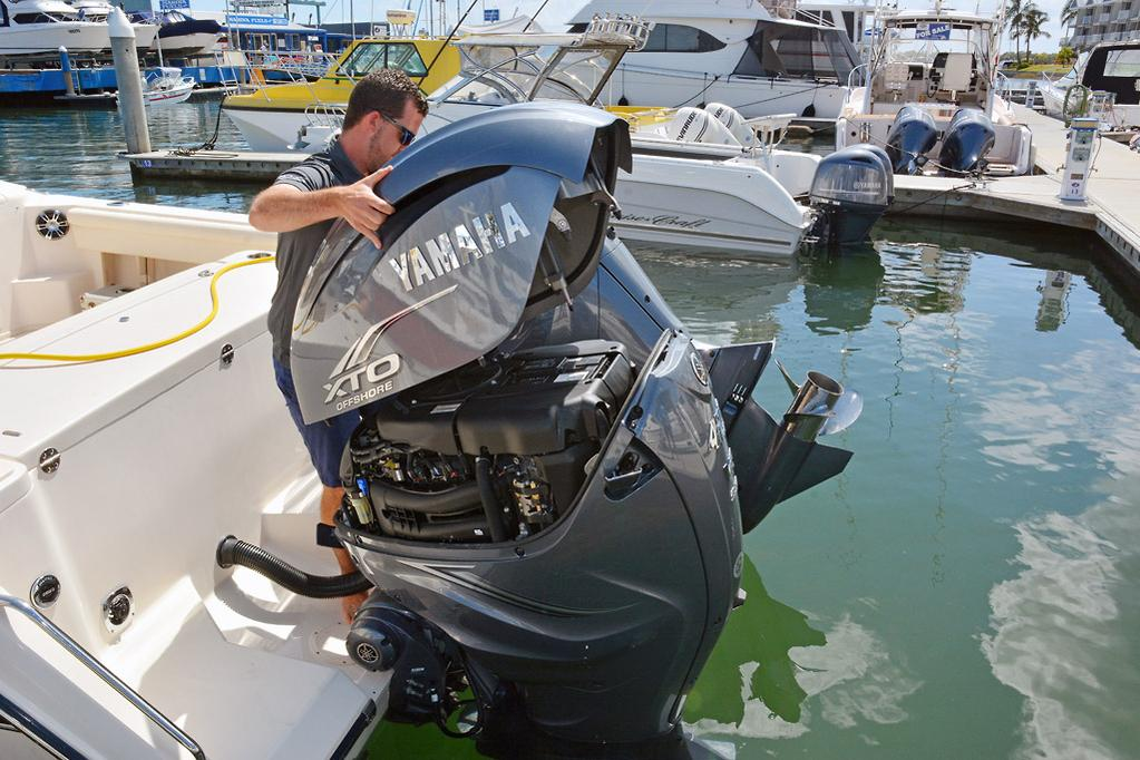 2019 Yamaha V8 XTO Offshore 425 review - www boatsales com au