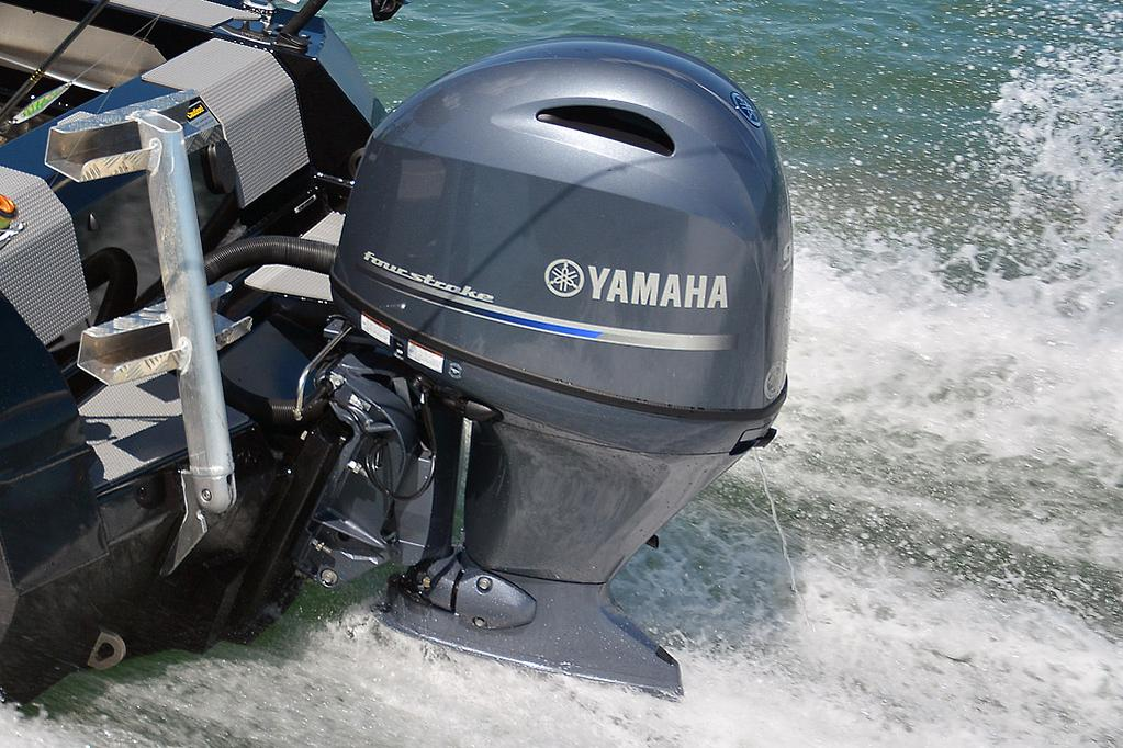 Yamaha 115 Four Stroke Outboard High Idle