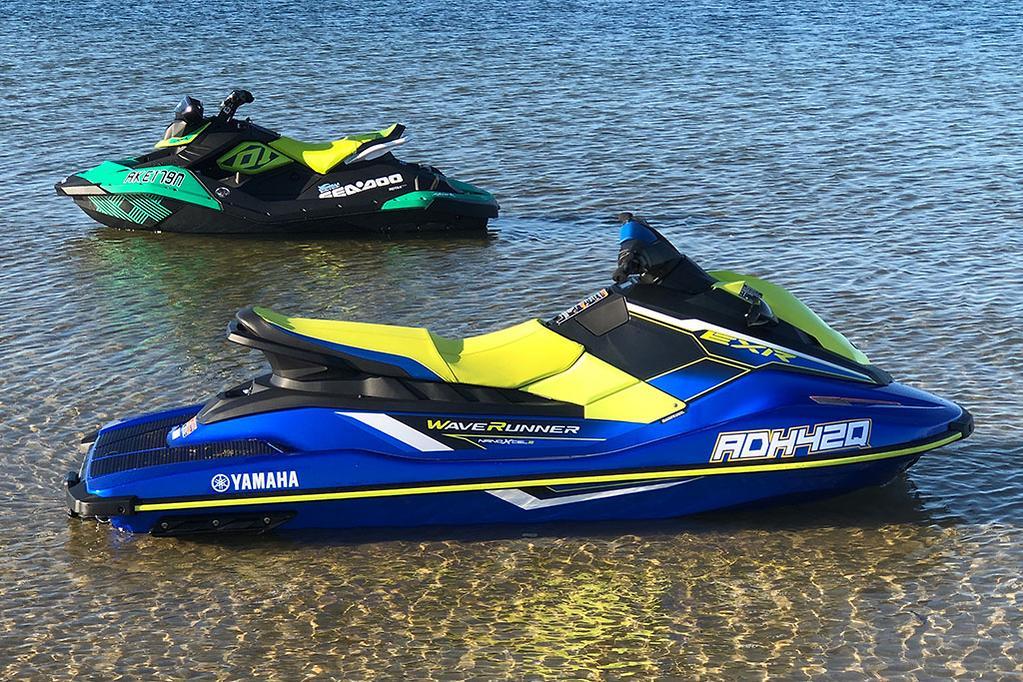 Head to head: Sea-Doo Spark Trixx and Yamaha WaveRunner EXR