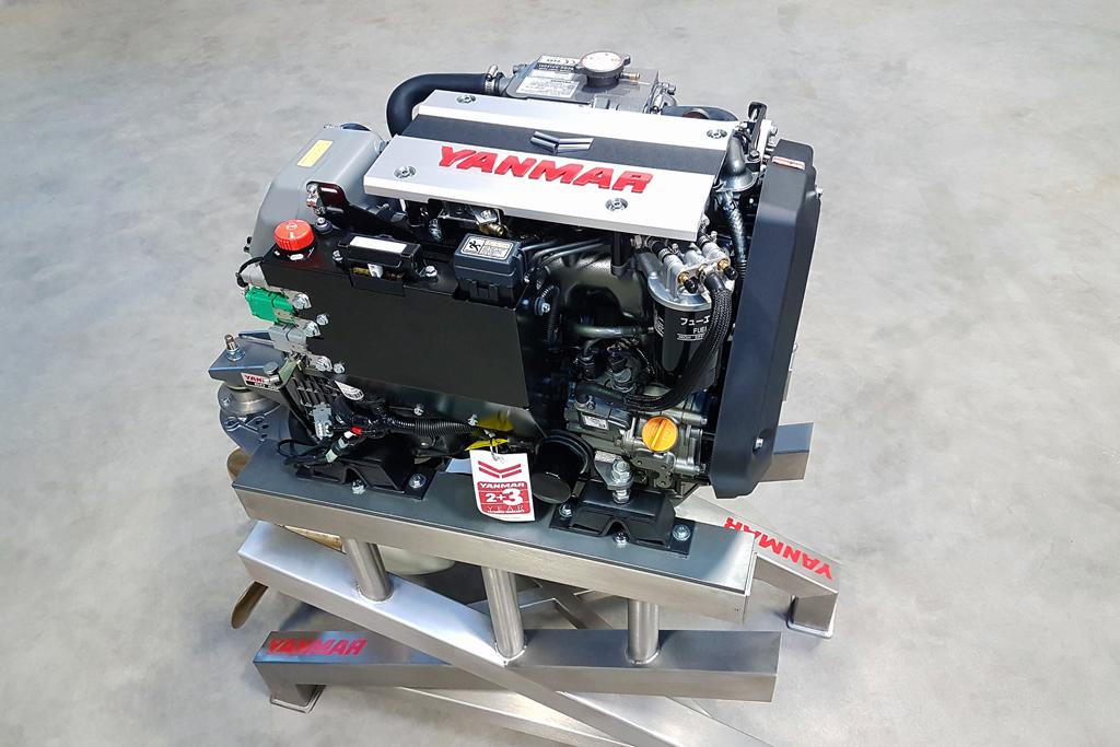 Yanmar releases world's smallest marine common-rail diesel