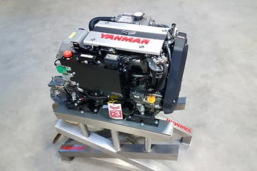 A new Yanmar 30hp engine perfect for classic wooden boats