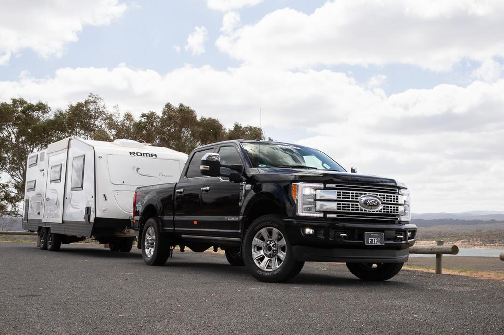 Tow Test: Ford F-350 Platinum 2018 - www caravancampingsales com au